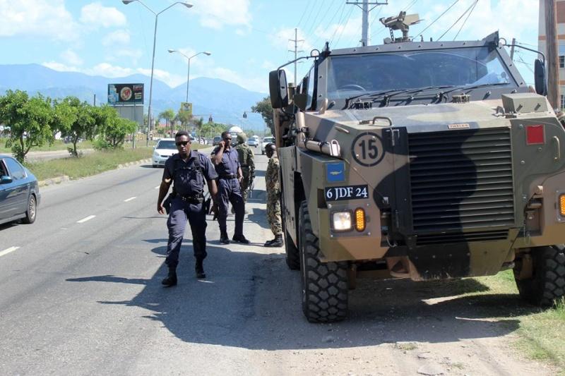 Force de défense de la Jamaïque / jamaica defence force (JDF) 1428