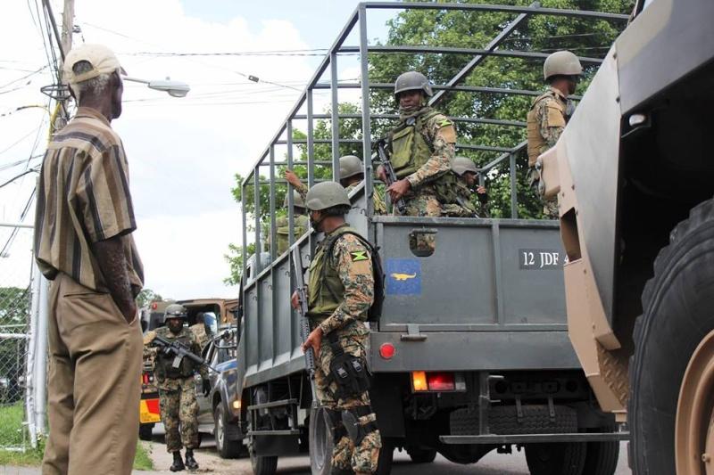 Force de défense de la Jamaïque / jamaica defence force (JDF) 1525
