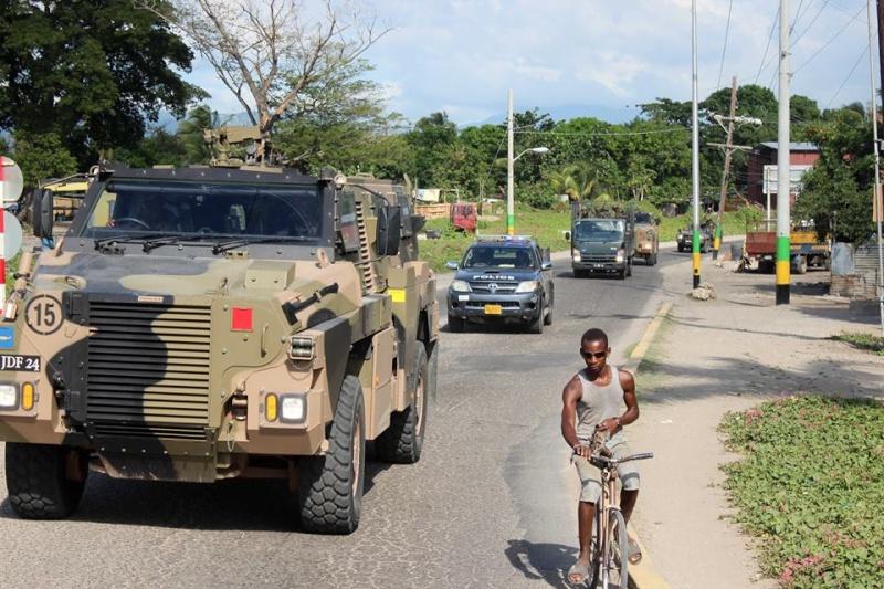 Force de défense de la Jamaïque / jamaica defence force (JDF) 1620