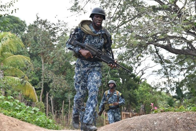 Force de défense de la Jamaïque / jamaica defence force (JDF) 17110