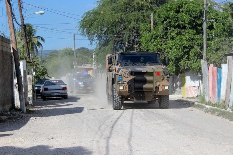 Force de défense de la Jamaïque / jamaica defence force (JDF) 1718