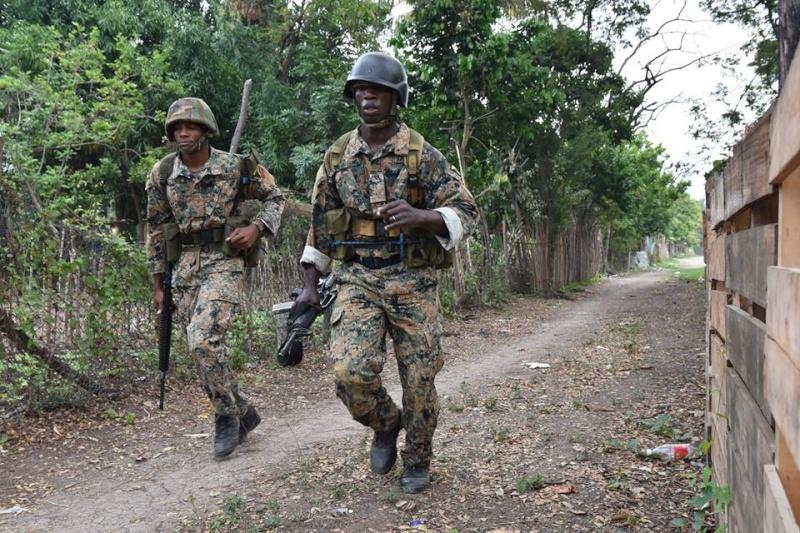 Force de défense de la Jamaïque / jamaica defence force (JDF) 1892