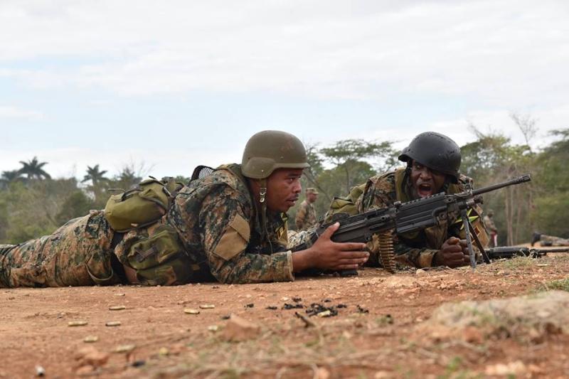 Force de défense de la Jamaïque / jamaica defence force (JDF) 2076