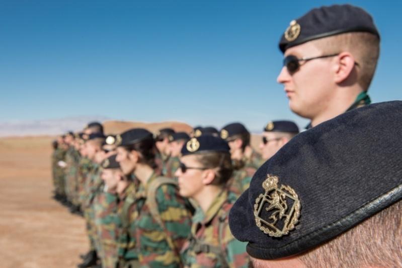 Coopération militaire Maroc-Belgique 2153