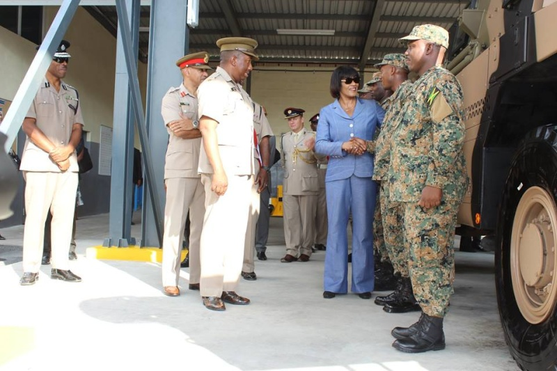Force de défense de la Jamaïque / jamaica defence force (JDF) 2329