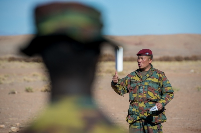 Coopération militaire Maroc-Belgique 2337
