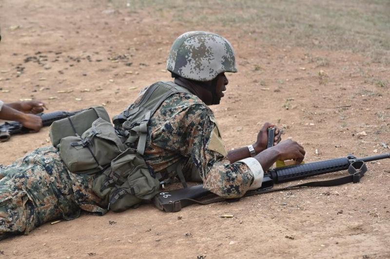 Force de défense de la Jamaïque / jamaica defence force (JDF) 2346