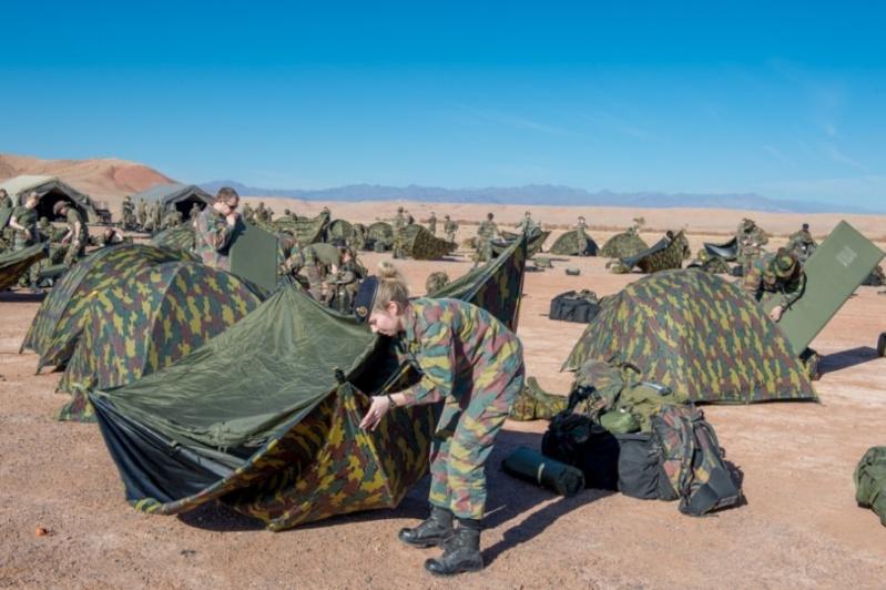 Coopération militaire Maroc-Belgique 2528