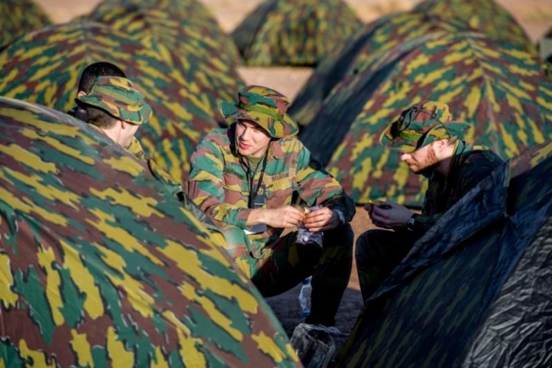 Coopération militaire Maroc-Belgique 2820