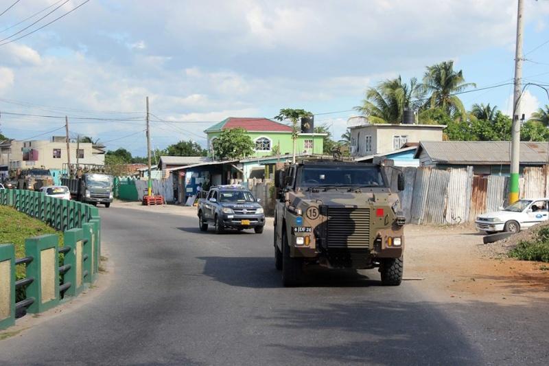 Force de défense de la Jamaïque / jamaica defence force (JDF) 9114