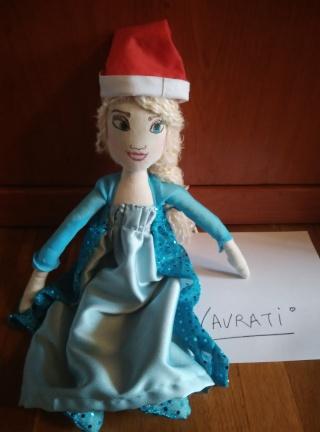 muñeca Elsa Frozen navideña 2015-114