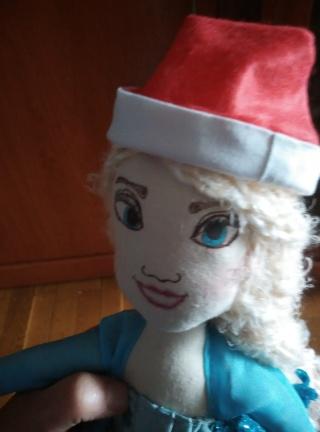 muñeca Elsa Frozen navideña 2015-115