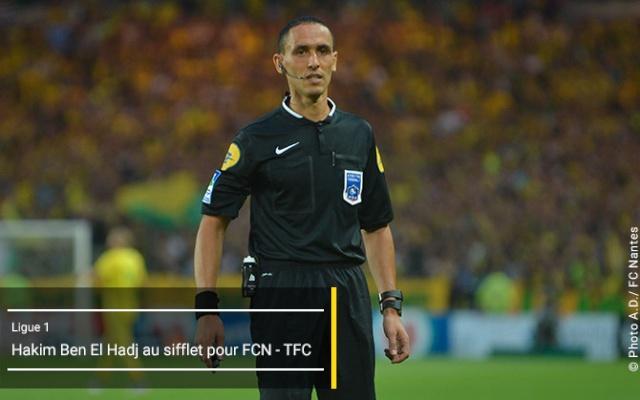 L1 . 18ème Journée - FC NANTES / TOULOUSE FC - Samedi 12 Décembre 2015 / 20H00 - Stade de LA BEAUJOIRE . Arbitr13