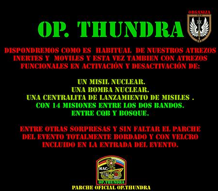 OP.  Thundra  14/2/16 Negro11