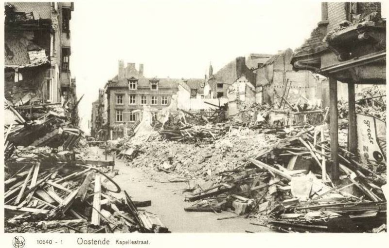 Destruction d'Oostende pendant  la WWII 179_0010
