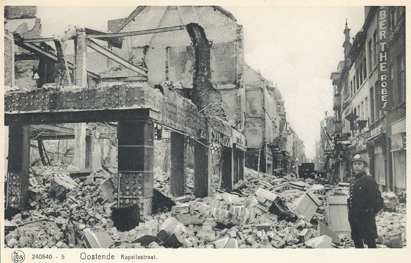 Destruction d'Oostende pendant  la WWII 6a10
