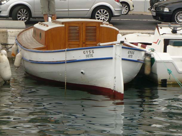 le bateau de Brassens Georges. Brasse10
