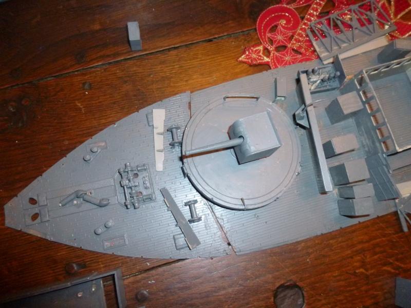 Corvette en réparation P1060444