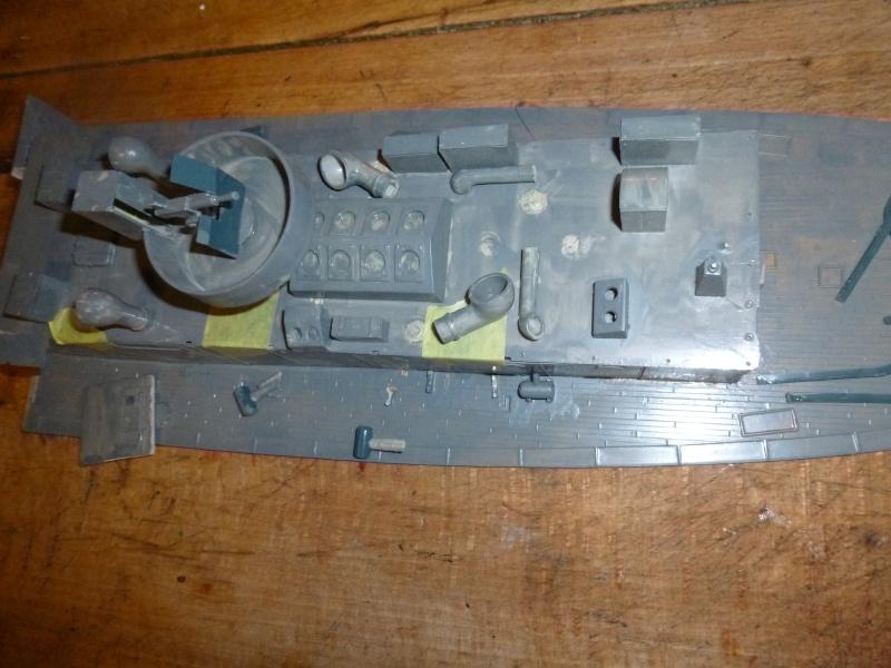 Corvette en réparation P1060448