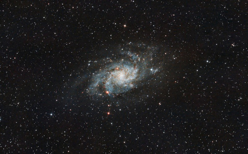 Traitement M33 en LRVB M3310