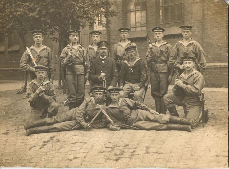 Photos de marins de l'époque impériale allemande. Marine10