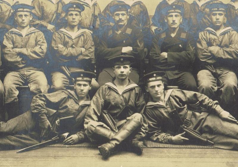 Photos de marins de l'époque impériale allemande. Marine12