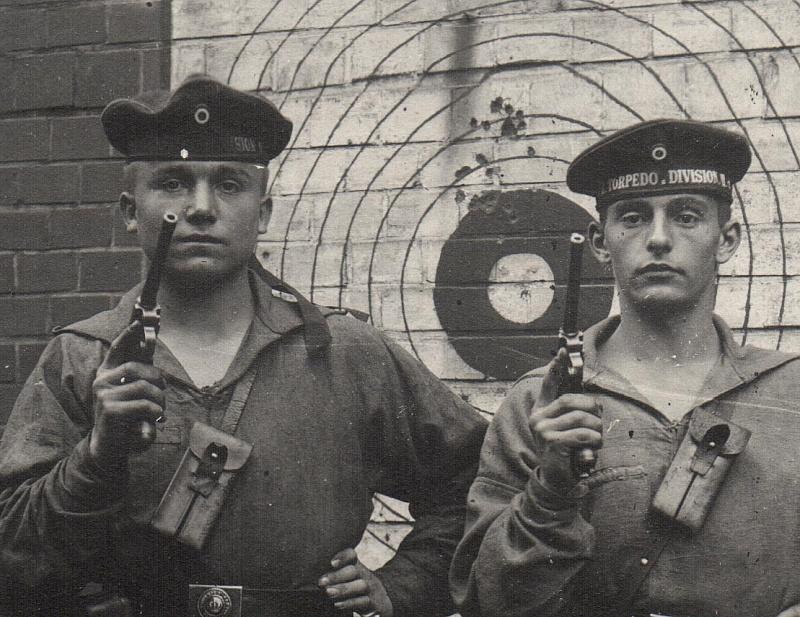 Photos de marins de l'époque impériale allemande. Marine13