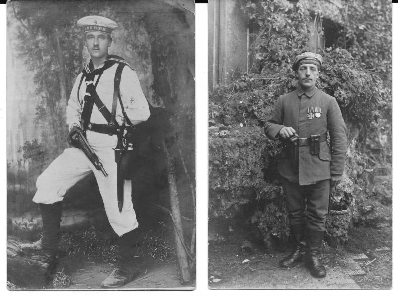 Photos de marins de l'époque impériale allemande. Marine14