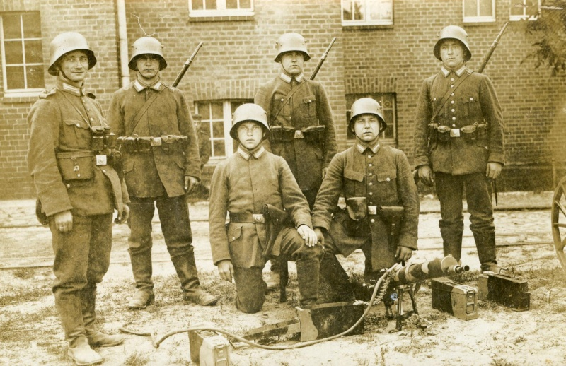Photos de marins de l'époque impériale allemande. Marine15