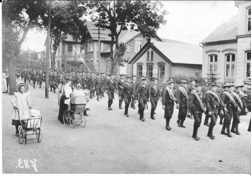 Photos de marins de l'époque impériale allemande. Marine17