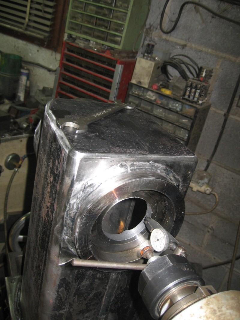 fabrication  tour  a bois  Tour_a12