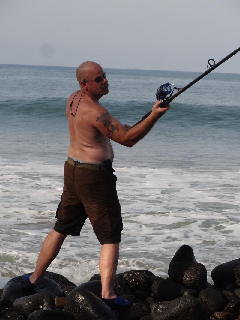 Surf fishing around Chacala Dsc07132