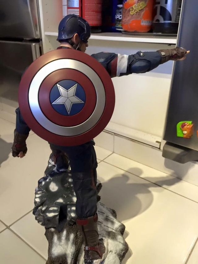 IRON STUDIOS: CAPTAIN AMERICA AVENGERS AGE OF ULTRON LEGACY 1/4 SCALE - Page 4 0111