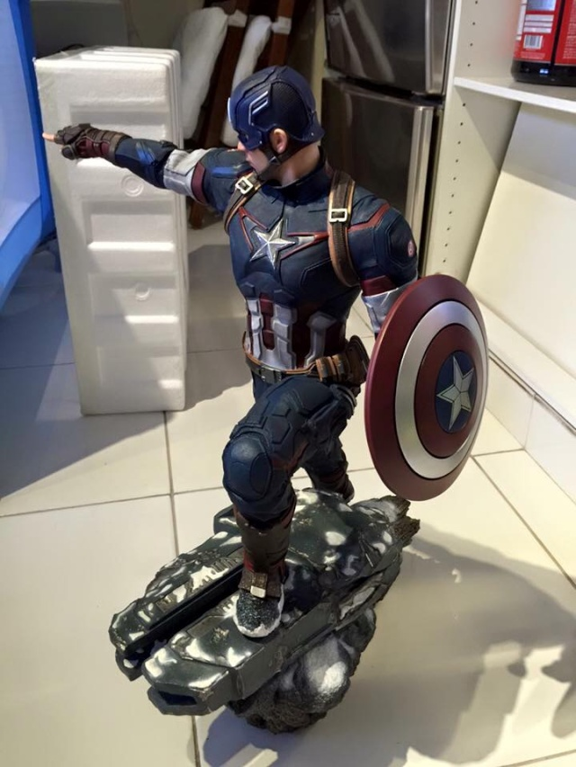 IRON STUDIOS: CAPTAIN AMERICA AVENGERS AGE OF ULTRON LEGACY 1/4 SCALE - Page 4 0211