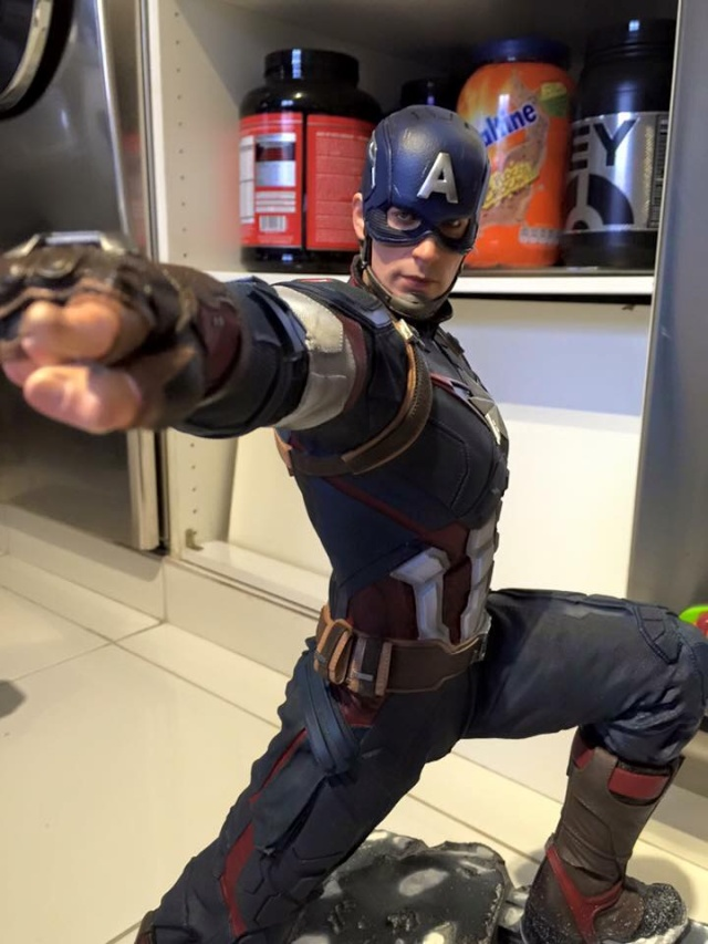 IRON STUDIOS: CAPTAIN AMERICA AVENGERS AGE OF ULTRON LEGACY 1/4 SCALE - Page 4 0311