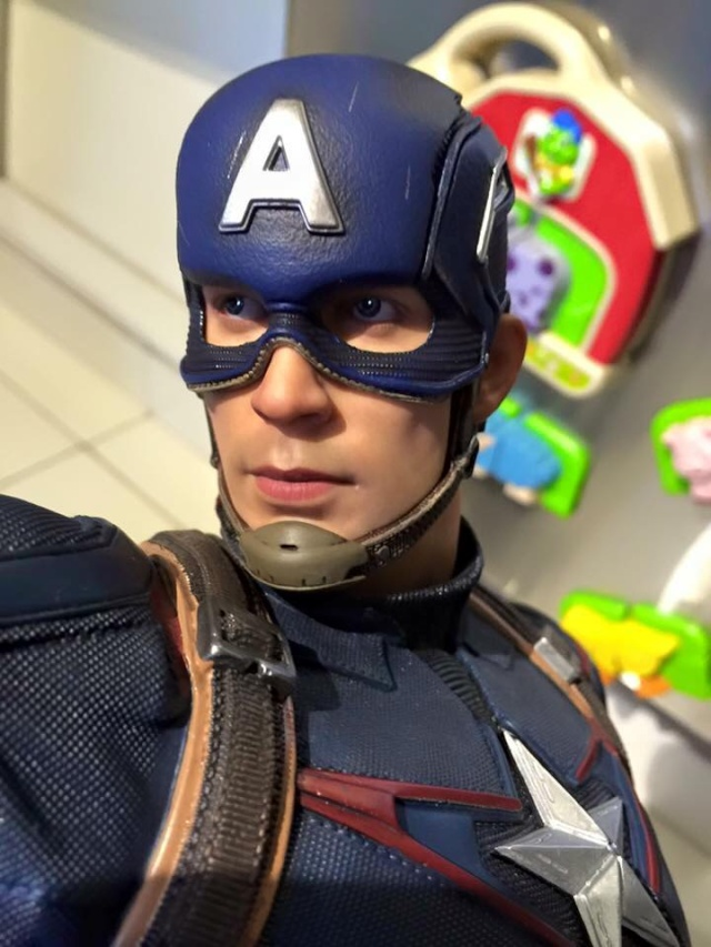 IRON STUDIOS: CAPTAIN AMERICA AVENGERS AGE OF ULTRON LEGACY 1/4 SCALE - Page 4 0711