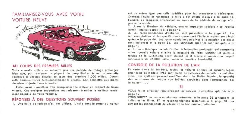 Manuel du propriétaire Mustang 1968 édition française Canada Page_016