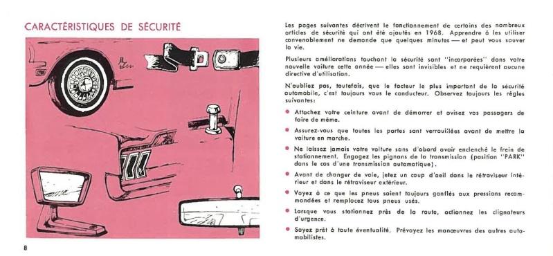 Manuel du propriétaire Mustang 1968 édition française Canada Page_020