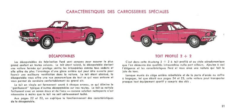 Manuel du propriétaire Mustang 1968 édition française Canada Page_211