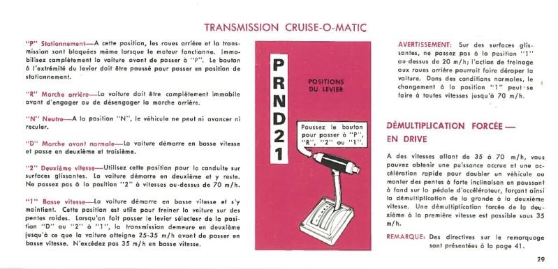 Manuel du propriétaire Mustang 1968 édition française Canada Page_219