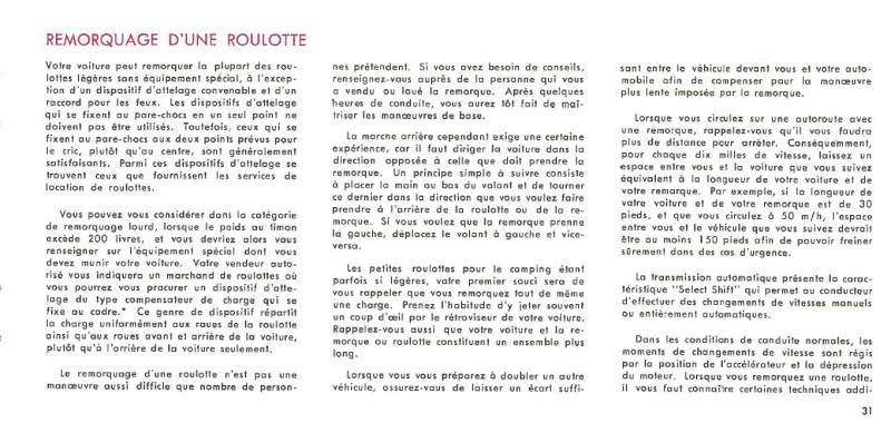 Manuel du propriétaire Mustang 1968 édition française Canada Page_312