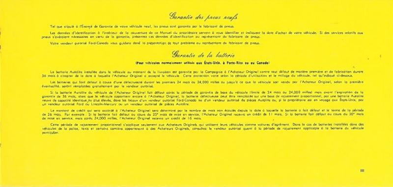 Manuel du propriétaire Mustang 1968 édition française Canada Page_315