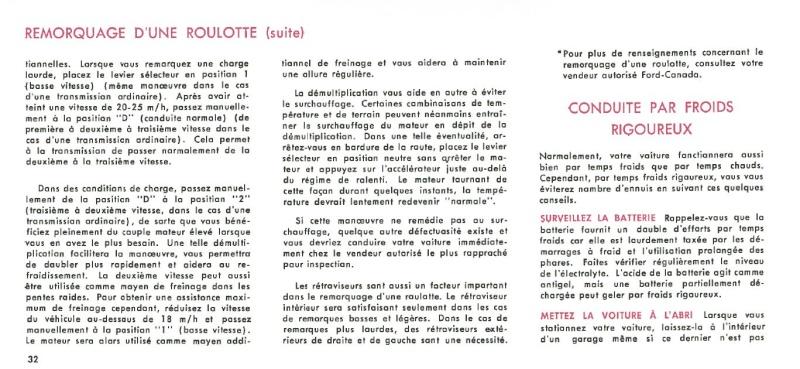 Manuel du propriétaire Mustang 1968 édition française Canada Page_317