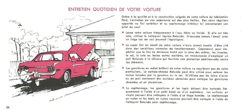 Manuel du propriétaire Mustang 1968 édition française Canada Page_319