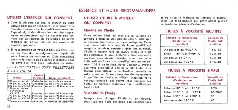 Manuel du propriétaire Mustang 1968 édition française Canada Page_321