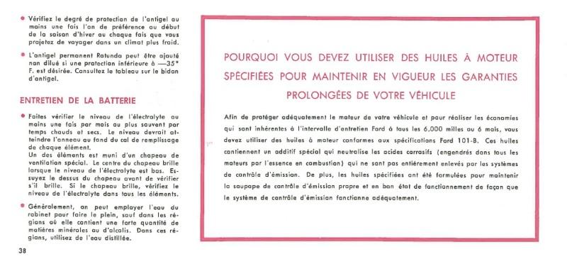 Manuel du propriétaire Mustang 1968 édition française Canada Page_323