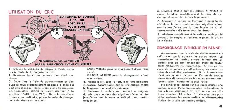 Manuel du propriétaire Mustang 1968 édition française Canada Page_411
