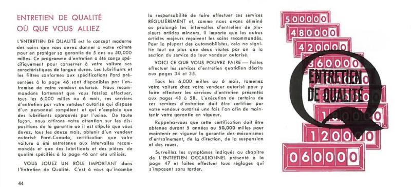 Manuel du propriétaire Mustang 1968 édition française Canada Page_414