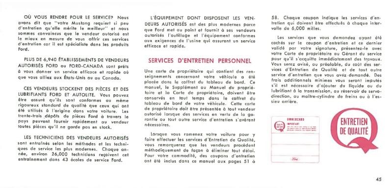 Manuel du propriétaire Mustang 1968 édition française Canada Page_415