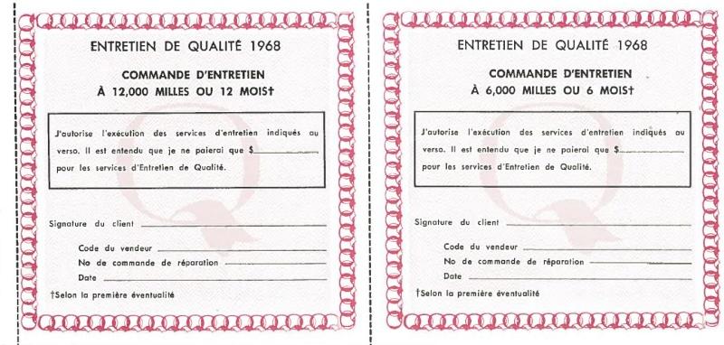 Manuel du propriétaire Mustang 1968 édition française Canada Page_511